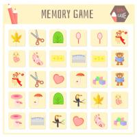 Match Memory Game -